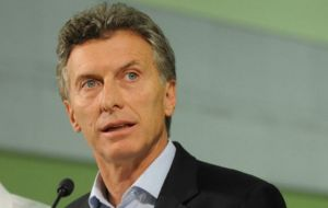 The government of president Macri has also anticipated it will bring its proposal in line with those of the other Mercosur members involved in the trade negotiations
