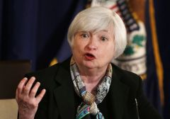 US central bank chair Janet Yellen has indicated that rates could rise gradually through the year if the economy grows strongly enough.
