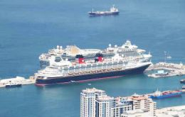 German operator TUI Cruises has included Gibraltar for the first time and has scheduled nine calls by its five ships.