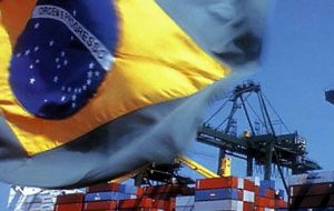Brazil posted a $3.04 billion trade surplus in February, the Trade Ministry said on Tuesday. Brazil exported $13.3 billion last month and had imports of $10.3 billion.