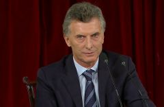 Griesa noted that Macri addressed the Argentine Congress on Tuesday to urge approval of settlements.