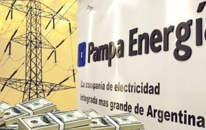 Pampa Energia SA has offered an estimated US$1.2 billion to buy its 67.2%t stake in Petrobras Argentina SA, according to oil industry sources.