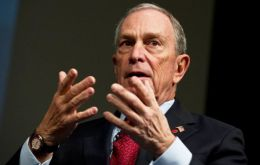 While denouncing candidates Trump and Cruz, Bloomberg explained he fears that a three-way race could lead to the GOP front-runner winning the White House.
