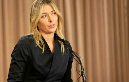 Sharapova told reporters in Los Angeles on Monday that she tested positive for meldonium, which was recently banned.