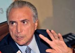 The party also re-elected as its leader Vice President Michel Temer, the man who would take over as president if Rousseff is forced out.