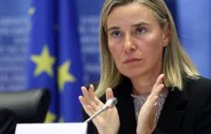 """We are working hard in the EU and Mercosur for a positive exchange of offers to happen in April. It's an ambitious but realistic goal"", Mogherini said"