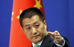 "Chinese foreign ministry spokesperson, Lu Kang said that Beijing was following closely and with 'special attention' the matter and called for ""effective measures"""