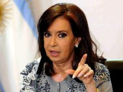 The opposition in the Lower House was concentrated in former president Cristina Fernandez Victory Front