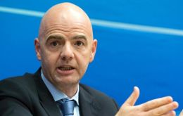 """The monies they pocketed belonged to global football and were meant for the development and promotion of the game"", said FIFA chief Infantino"