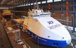 Currently undergoing final outfitting at Arctech Helsinki Shipyard, the icebreaker is being built for the Finnish Transport Agency