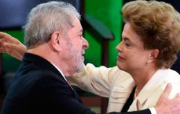 Rousseff appointed Lula, one of Brazil's most influential politicians six years after leaving office, to shore up her support against pending impeachment proceedings.