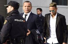 The tax, interest and penalties Neymar has been ordered to pay are exactly equivalent to the amount of Neymar's assets a judge ordered frozen last September.