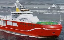 The state-of-the-art £200m vessel will be launched in 2019 to replace Royal Research Ships (RRS) Ernest Shackleton and James Clark Ross.