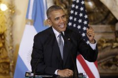 The announcement was made on Thursday, as Barack Obama ends a two-day visit to Argentina during which he expressed his firm support to Macri's administration