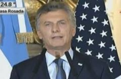 US Justice Department said lifting injunctions would respond to the interest of the US government in supporting Macri's initiatives to boost the Argentine economy.