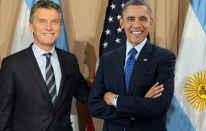 "Argentina should ""try to reconcile with the world"" and have a ""mature"" relationship with other countries, said Cargnello on Obama's visit"