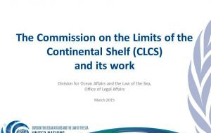 "CLCS said ""it was not in a position to consider and qualify those parts of the submission that were subject to dispute"" and those to Antarctica"