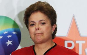 Rousseff has denied any wrongdoing and called the impeachment efforts a coup to oust her ruling Workers' Party (PT).