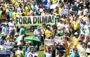 Impeachment efforts gained steam as more than three million Brazilians took to the streets this month to protest the recession and a vast corruption scandal