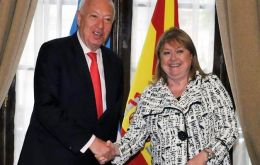 García-Margallo underlined the decision to renew the strategic association between the two countries.