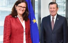 Nin Novoa has a meeting scheduled with EU Trade Commissioner Cecilia Malmström and is expected to agree on dates for the formal exchange of proposals
