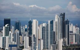 View of Panama City financial district: Panama does not deserve to be singled out on an issue that plagues many countries
