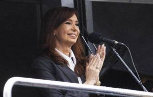 In another part of her message Cristina Fernández referred to the Panama Papers leak that revealed President Macri's alleged offshore dealings.