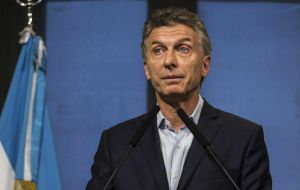 Macri unable to ignore the issue told reporters that it was his predecessor's right to be received and accompanied by supporters in this stage of her political life.