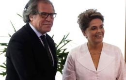 Almagro said OAS has made a detailed analysis of the impeachment process against Dilma, and has concluded that it does not fit within the rules of this process.