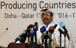 "Qatar'a Sada said the general conclusion was more time was needed ""to consult among ourselves in Opec and non-Opec producers"""