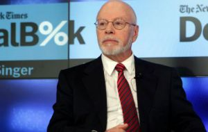The holdouts led by US hedge funds Elliott Management and Aurelius Capital, will get about 75% of what they had claimed under the agreement.