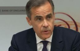 BoE governor Carney said the vote was the biggest risk to the UK's financial stability and pointed out that uncertainty was already hitting the growth outlook.