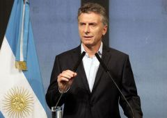 "Macri told business leaders that ""they had no more excuses and had to begin investing; we did our job, we're back in world markets the relay is now with them"""