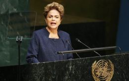 Rousseff aides said the populist leader would attend a U.N. event Friday in New York, where she will denounce as illegal the attempt to impeach her.