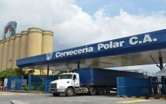 Cerveceria Polar, maker of the country's best-known brands of beer, said it will run out of barley April 29 and has no access to dollars to pay importers