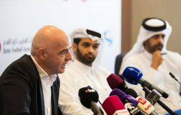 Infantino said the hosting of the FIFA World Cup is an opportunity to set a benchmark in terms of sustainable and fair conditions for all workers in Qatar.