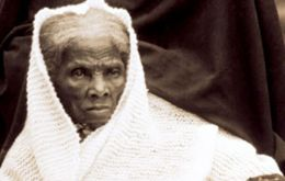 Tubman was born a slave and helped hundreds of slaves escape using the Underground Railroad