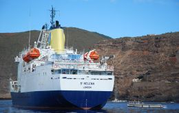 Built in UK in 1990 specifically for the St Helena route and with 6,767 gross tons, she can accommodate 156 passengers in 56 cabins, together with a cargo capacity