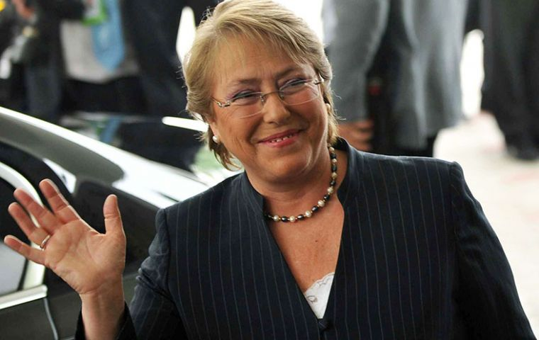 President Bachelet is scheduled to visit Punta Arenas and attend some of the main events on 3 May