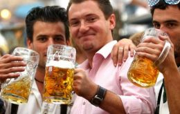 Beer consumption is dwindling falling by an alarming rate of about 30% over the last 25 years as younger Germans have increasingly turned away
