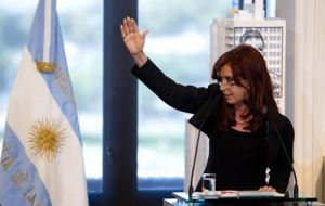"In the past five years the administration of his predecessor Cristina Fernández ""hid unemployment under 'worthless public jobs'."""