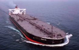 Exports are expected to reach a record 91,000 barrels per day (bpd) of crude in April, including two cargoes sold by YPF to China