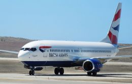Last week the Island's Air Service Provider, Comair, brought a Boeing 737-800 aircraft to St Helena on an 'Implementation Flight'