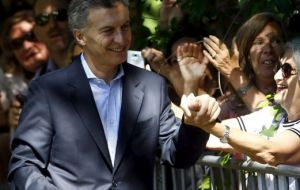Free-markets proponent Macri took office in December, promptly ditching the trade and currency controls applied by his predecessor Cristina Fernández.
