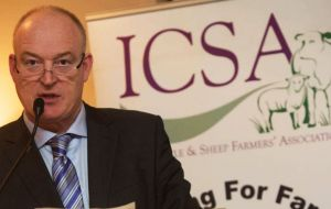"ICSA President Patrick Kent said the EU Commission has no mandate to push for a trade deal at ""such a huge cost"" to the European beef sector."