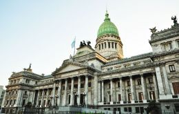 Argentine congress is in the middle of a high pitched debate over a bill which would freeze layoffs for the next 180 days