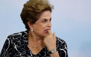 The Supreme Court, which has been reluctant to intervene decisively in Brazil's  presidential impeachment process, rejected requests to overturn the annulment.