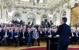 Macri has said measures are needed to jump start Argentina's stagnant economy and end economic distortions that have led to years of high inflation.