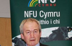 "NFU Cymru President, Stephen James said: ""Today's announcement from Commissioner Hogan is reassuring for the Welsh beef sector""."