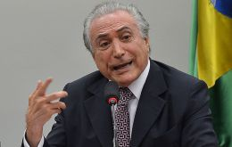 """It is urgent we calm the nation and unite Brazil,"" said Temer after a signing ceremony for his incoming cabinet."